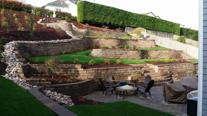 Retaining Walls - Mutual Materials