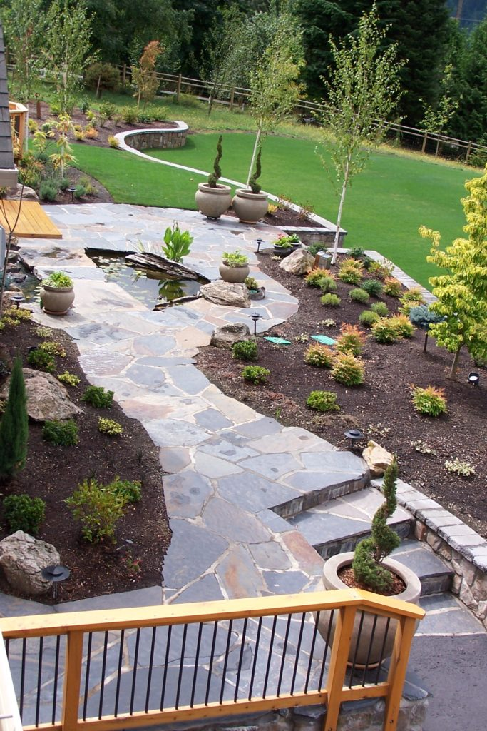 Iron Mountain Flagstone Project