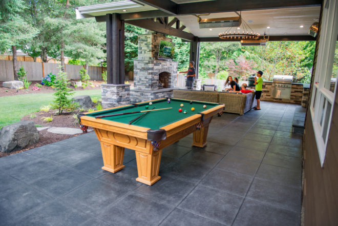 24 x 24 Glacier Slate - Charcoal Project Completed by McCarthy Custom Homes LLC